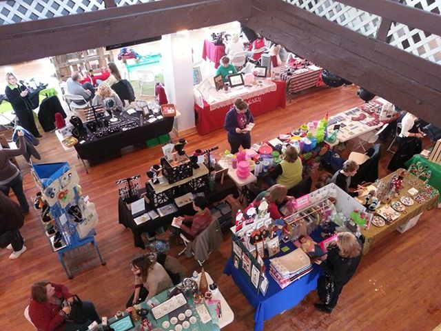 Crafters and Vendors Inside