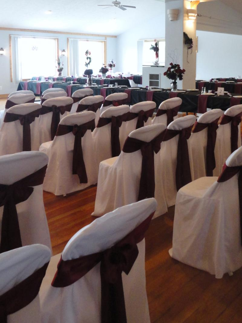Chair Covers for your Wedding!